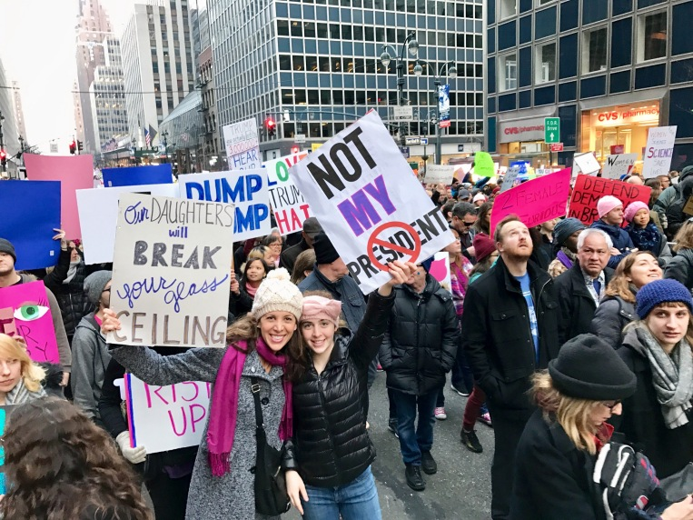 Women's March NYC 2017